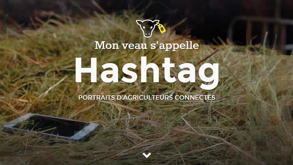 Mon veau s'appelle Hashtag